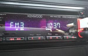 AFN-DX auf 103,7 MHz