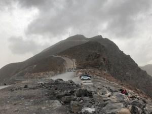 Blick auf den Jebel Jais