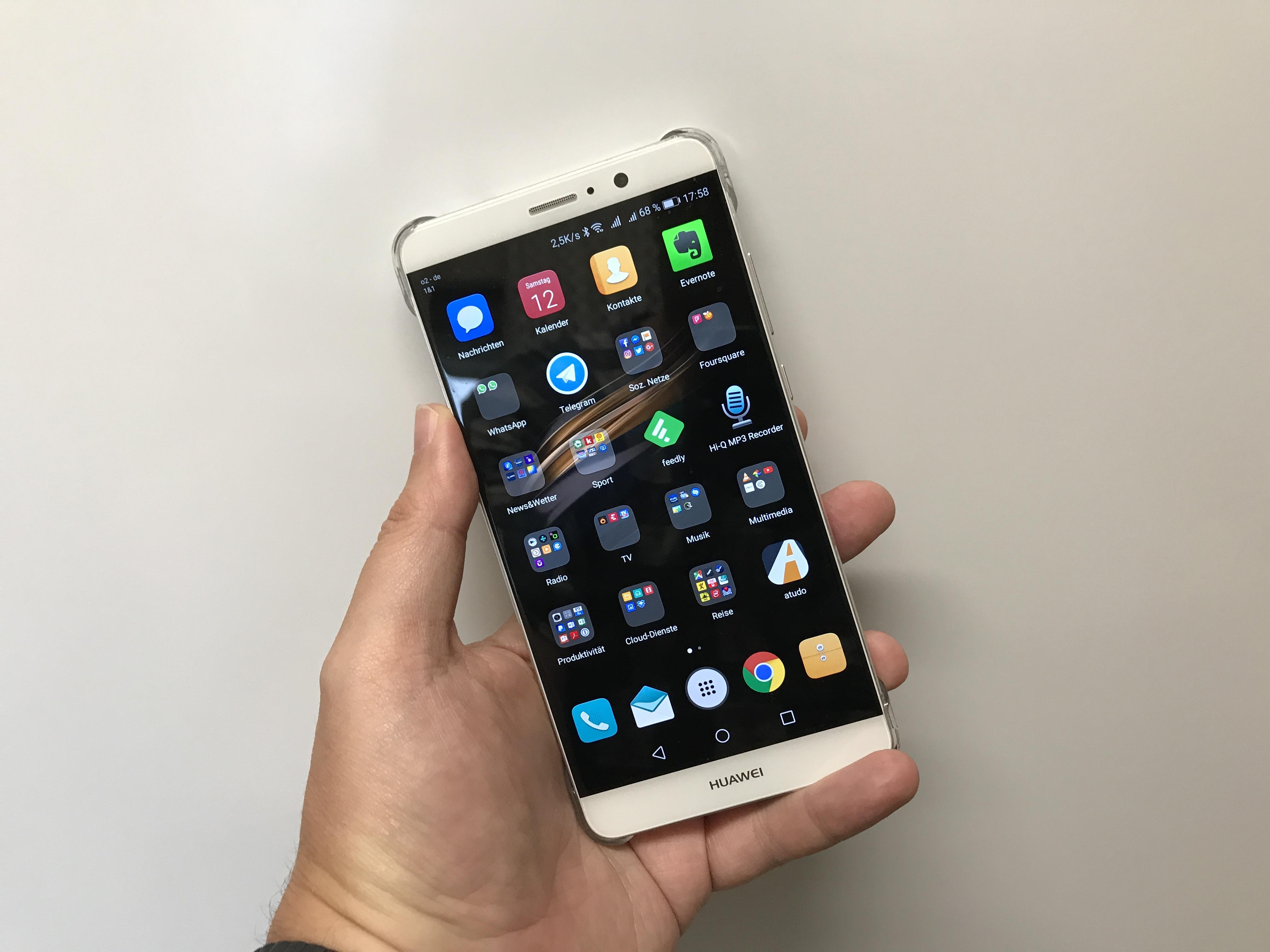 Huawei Mate 9 reaktiviert