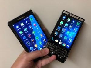 Blackberry Priv und Blackberry KEYone