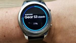 Update für die Gear S3 classic