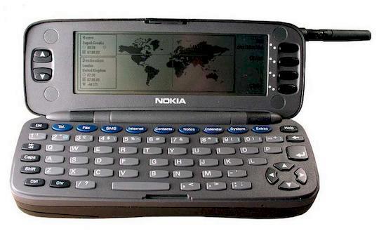 Den Nokia Communicator 9000 nutzte ich schon Ende der 90er Jahre (Foto: Nokia via allaboutsymbian.com)