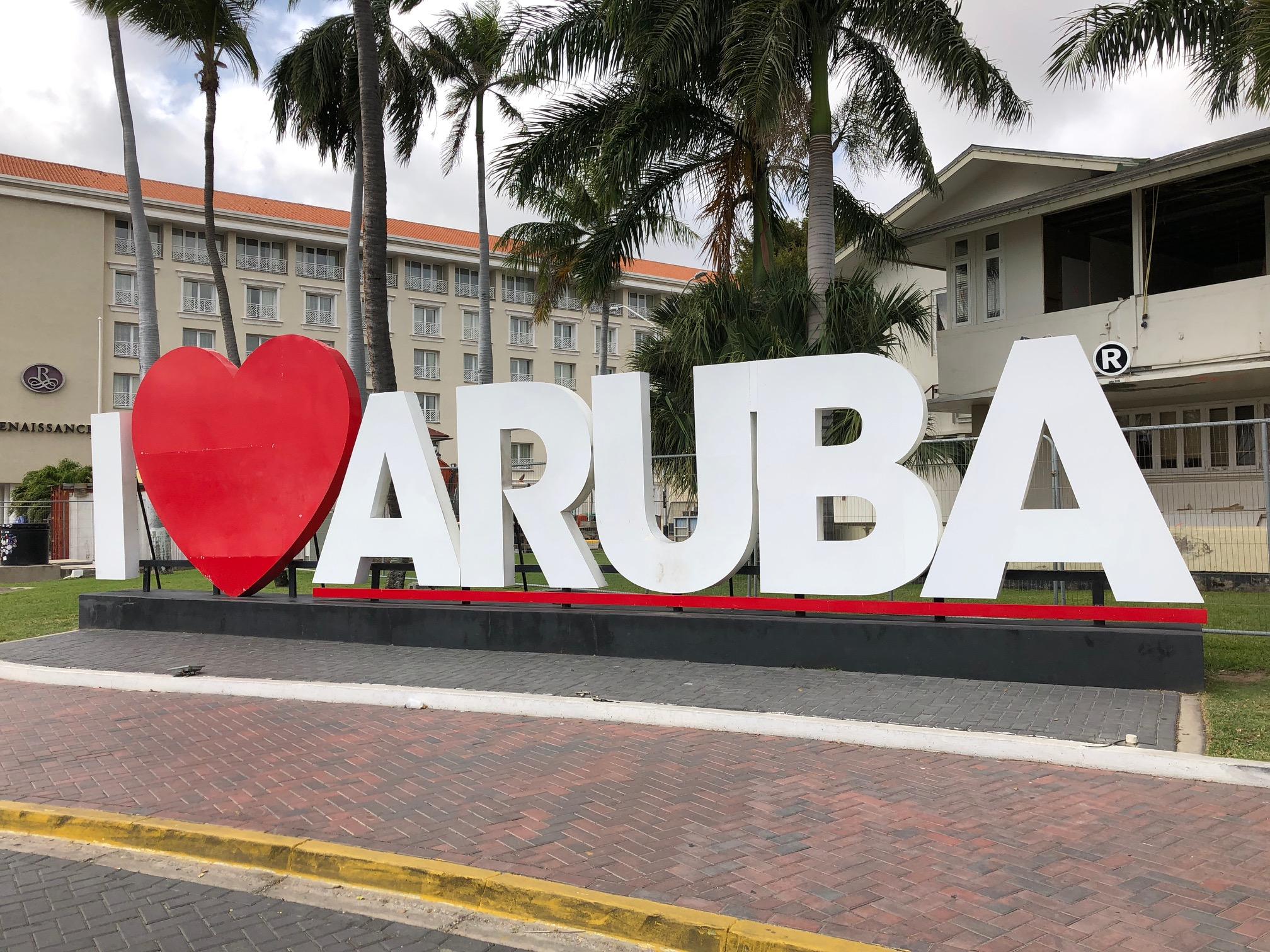Auf Aruba gibt es zwei Mobilfunknetze