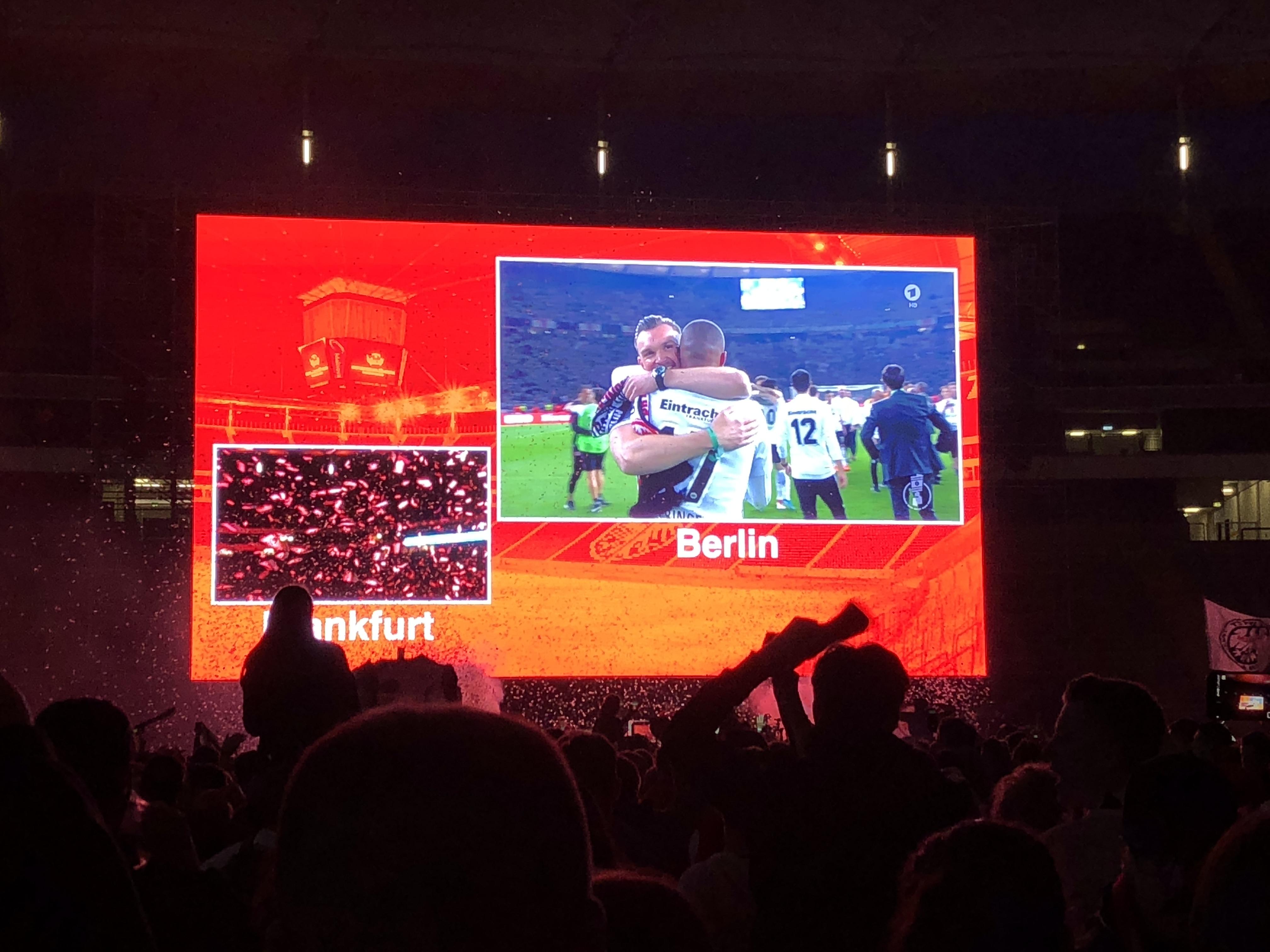 Public Viewing zum DFB-Pokalfinale