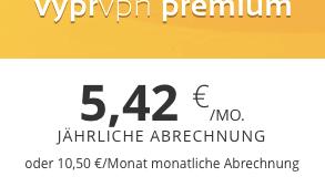 Wechsel zu VyprVPN Premium