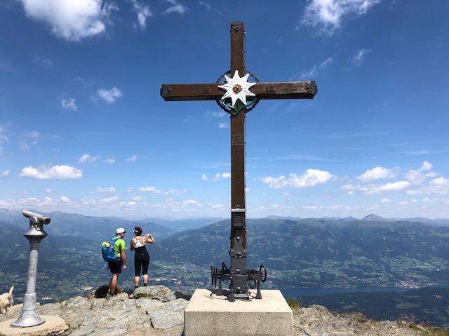Goldeck-Gipfelkreuz (Foto: SmartPhoneFan.de)