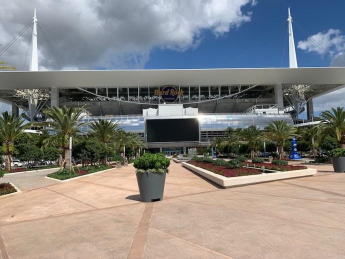 Hard Rock Stadium in Miami (Foto: SmartPhoneFan.de)
