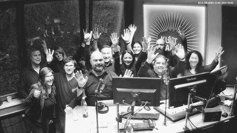 Das Kultradio-Team verabschiedet sich (Foto: Kultradio)