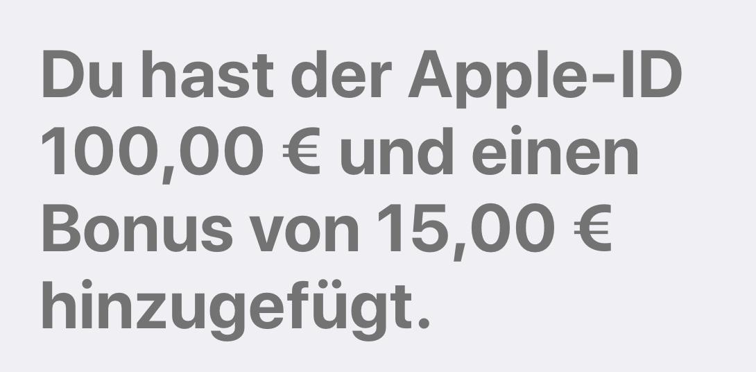 iTunes-Bonus direkt von Apple (Foto: SmartPhoneFan.de)