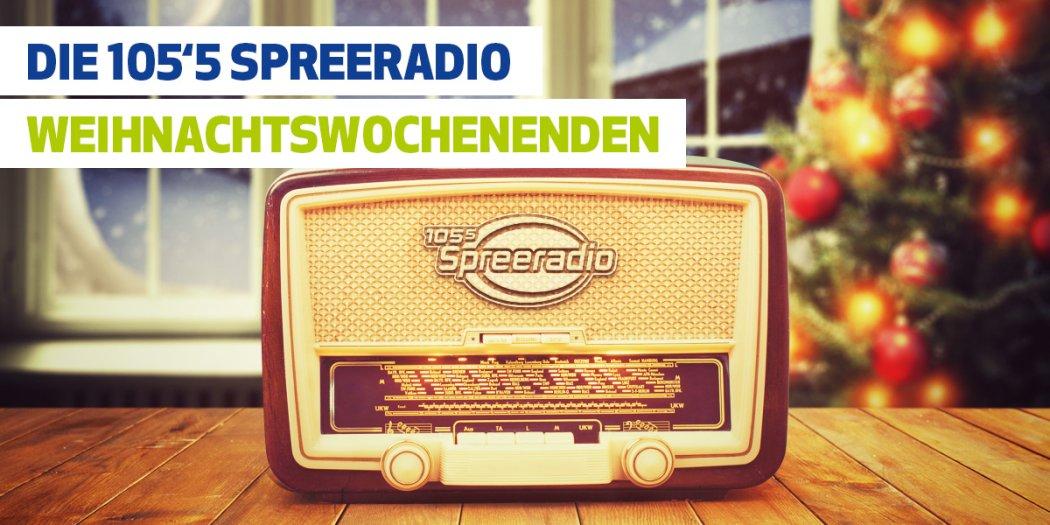 Spreeradio am Wochenende mit Weihnachtsmusik pur (Foto: Spreeradio)