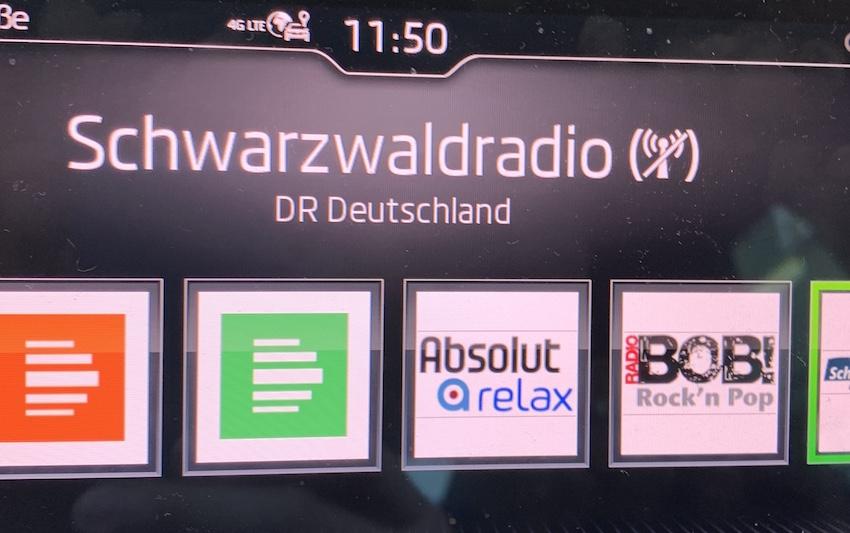 Kein stabiler Schwarzwaldradio-Empfang in Lohr (Foto: SmartPhoneFan.de)
