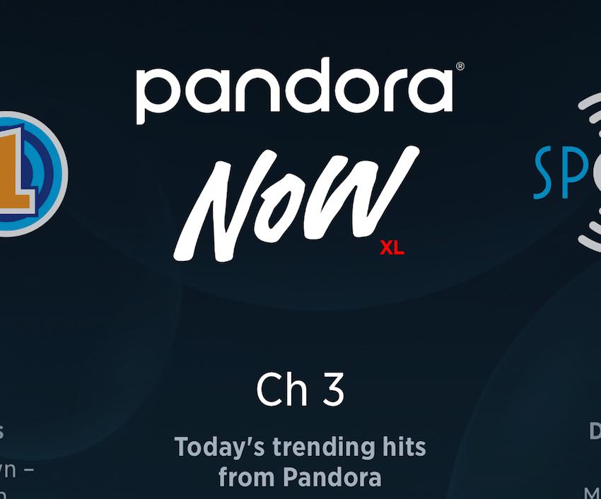 Pandora Now bei SiriusXM (Foto: SmartPhoneFan.de)