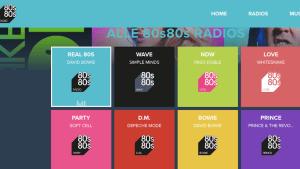 80s80s sendet seit 2015 (Screenshot: SmartPhoneFan.de, Quelle: 80s80s.de)