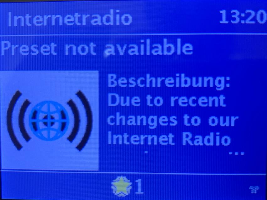 Datenbank-Wechsel bei den WLAN-Radios (Foto: SmartPhoneFan.de)