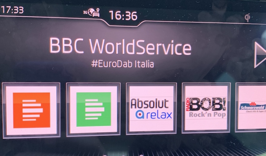 Die BBC sendet in Italien über DAB+ (Foto: SmartPhoneFan.de)