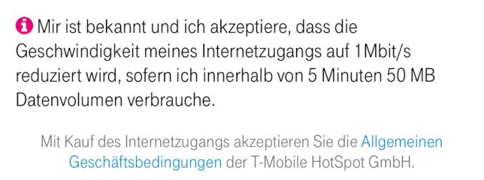 Daten-Drossel trotz Streaming-Tarif (Foto: SmartPhoneFan.de)