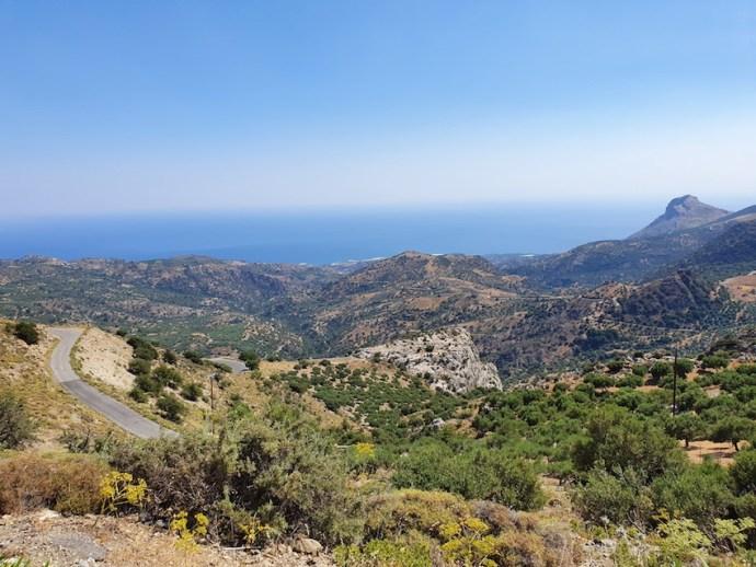 Hoch über der Südküste Kretas (Foto: SmartPhoneFan.de)