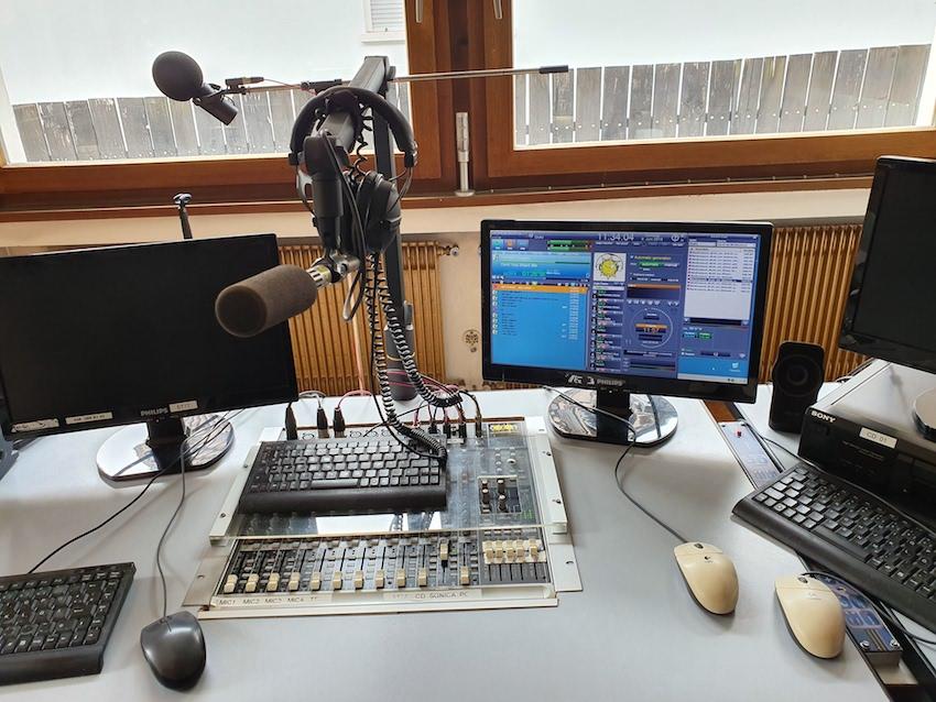 Blick ins Studio von Radio Sonnenschein (Foto: SmartPhoneFan.de)