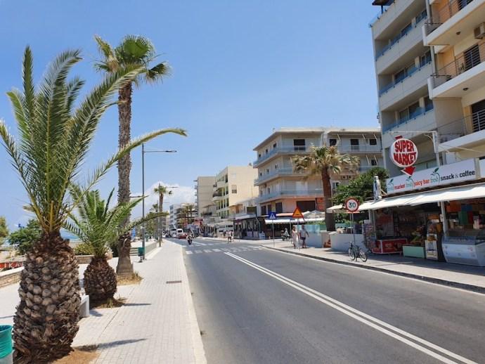 Strandpromenade in Rethymno (Foto: SmartPhoneFan.de)