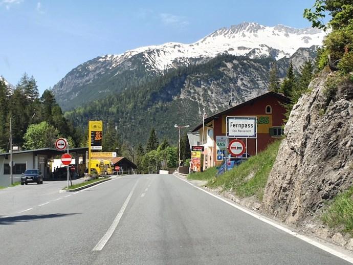 Der Fernpass ist erreicht (Foto: SmartPhoneFan.de)