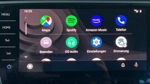 So sieht Android Auto jetzt aus (Foto: SmartPhoneFan.de)