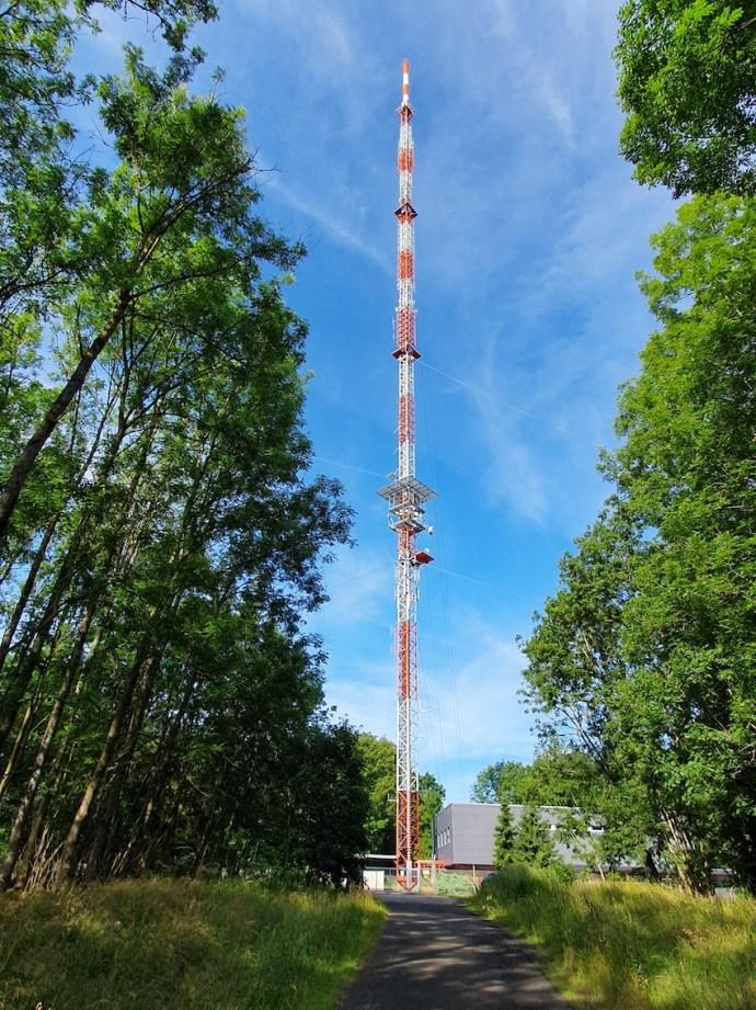 Sendemast des Hessischen Rundfunks auf dem Rimberg (Foto: SmartPhoneFan.de)