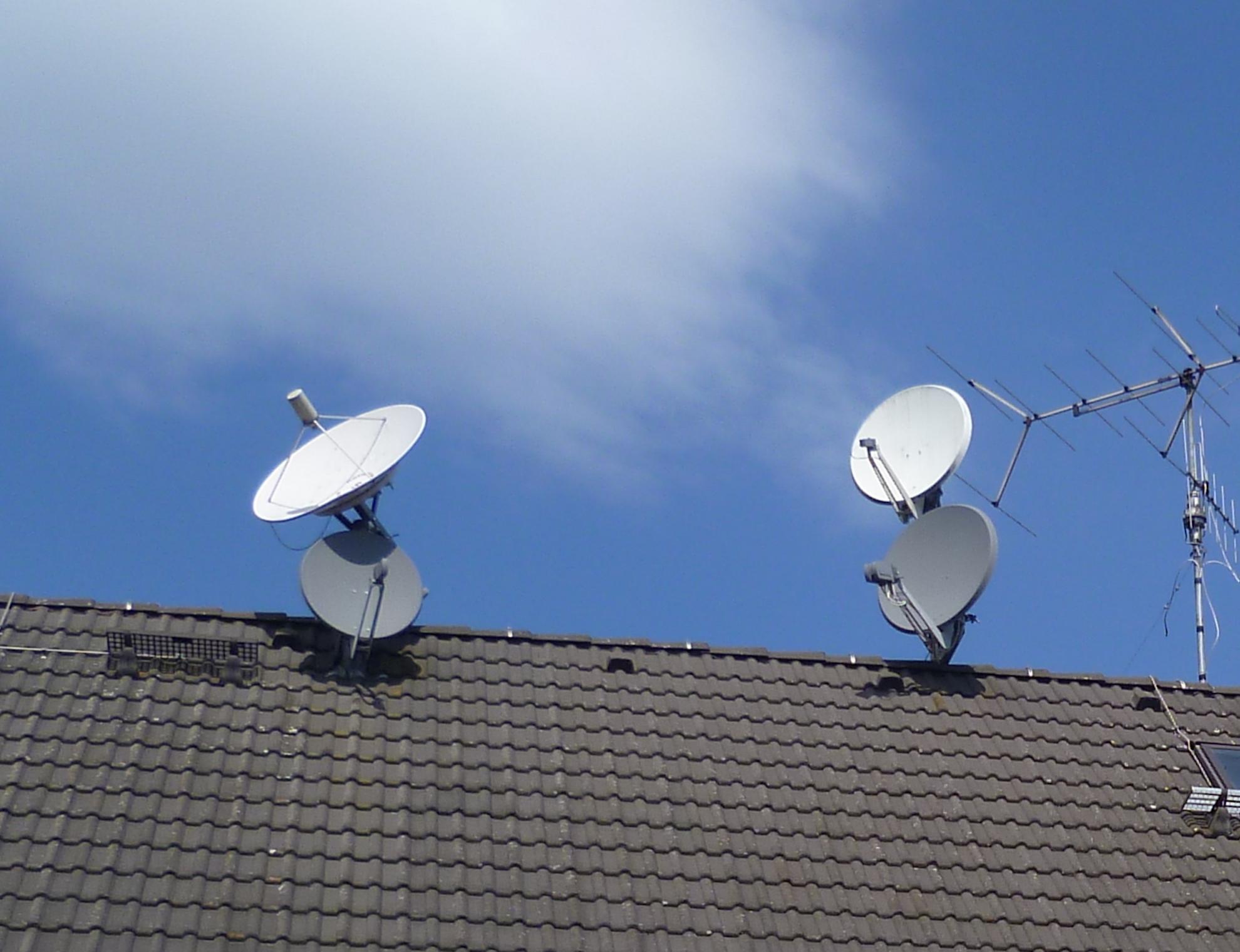 Einige Antennen meiner Empfangsanlage (Foto: SmartPhoneFan.de)