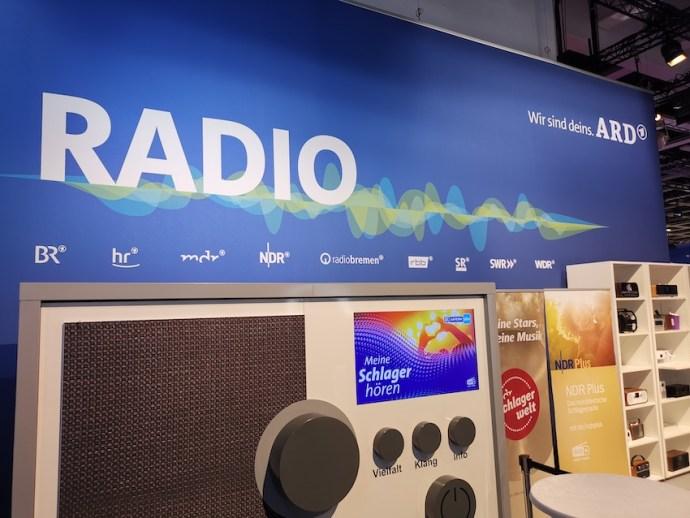 ARD wirbt für das Medium Radio (Foto: SmartPhoneFan.de)