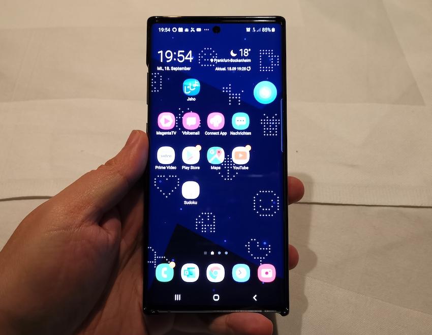Samsung Galaxy Note 10+ im Hands-On (Foto: SmartPhoneFan.de)
