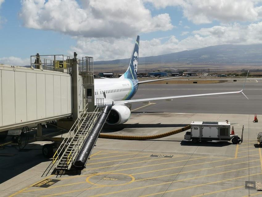 Flug mit Alaska Airlines zurück auf das amerikanische Festland (Foto: SmartPhoneFan.de)