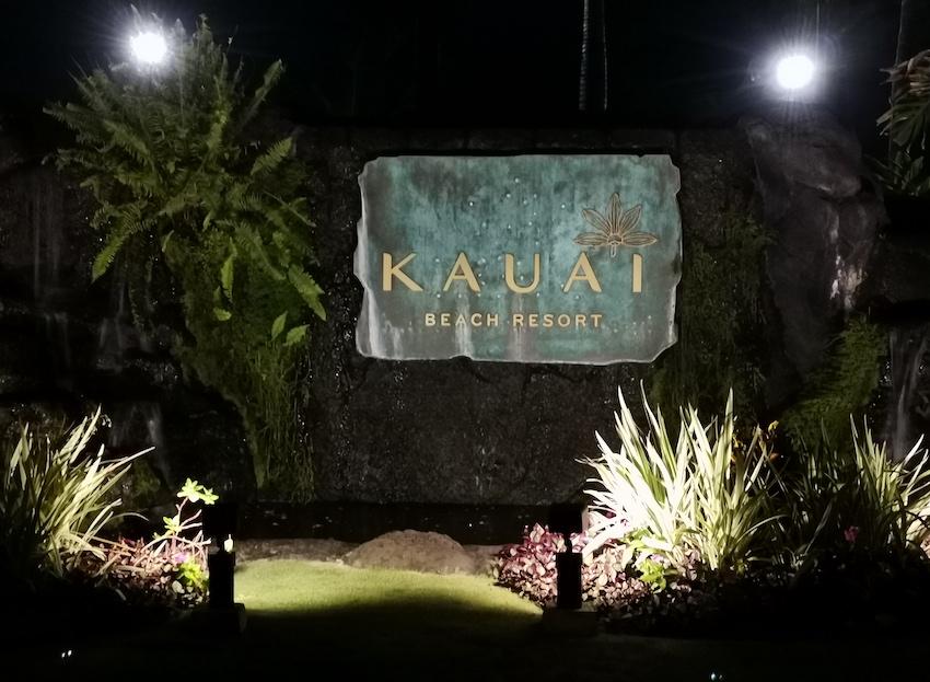 Kauai Beach Ressort bei Nacht (Foto: SmartPhoneFan.de)