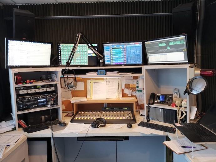 Studio von KONG 93.5 (Foto: SmartPhoneFan.de)