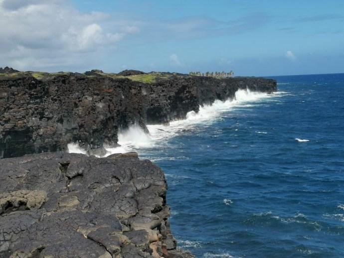 Pazifikküste am Ende der Chain of Craters Road (Foto: SmartPhoneFan.de)