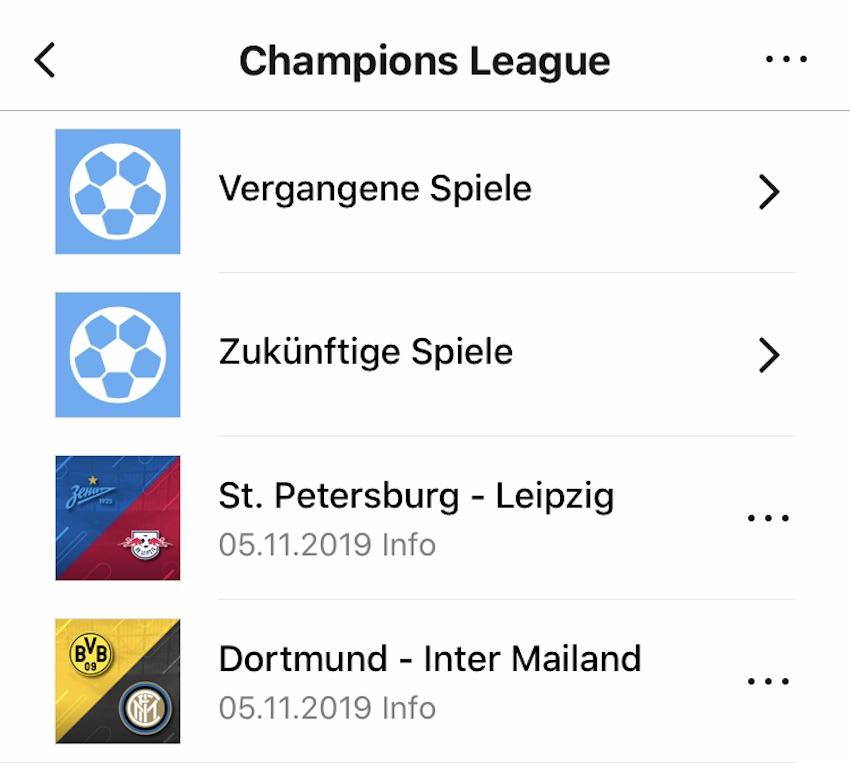 Champions-League-Bug bei Amazon Music (Foto: SmartPhoneFan.de)