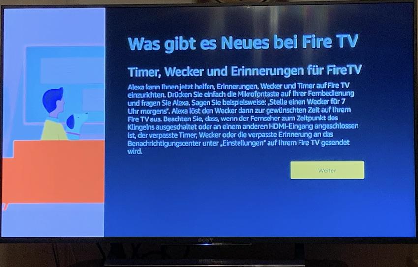 Update fürs Fire TV (Foto: SmartPhoneFan.de)