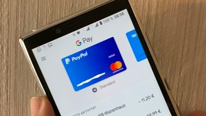 Google Pay mit PayPal (Foto: SmartPhoneFan.de)
