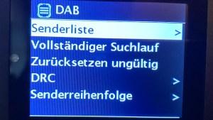Hama DIT2100MSBT ohne manuelle DAB+-Kanalsuche (Foto: SmartPhoneFan.de)