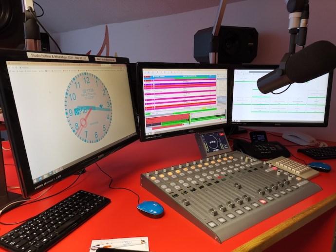 Blick ins BH-eins-Studio (Foto: SmartPhoneFan.de)