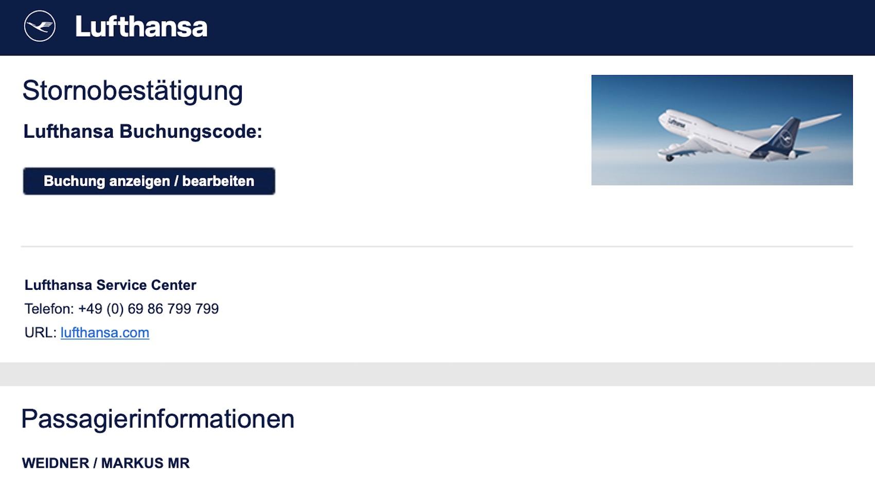 Lufthansa storniert Florida-Ticket (Foto: SmartPhoneFan.de)