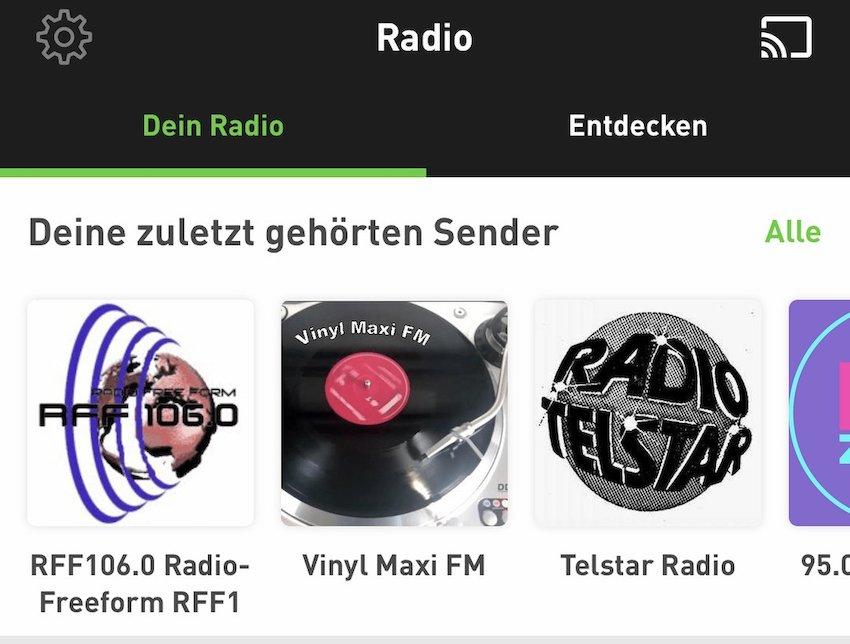 Neue Radio.de-App (Foto: SmartPhoneFan.de)