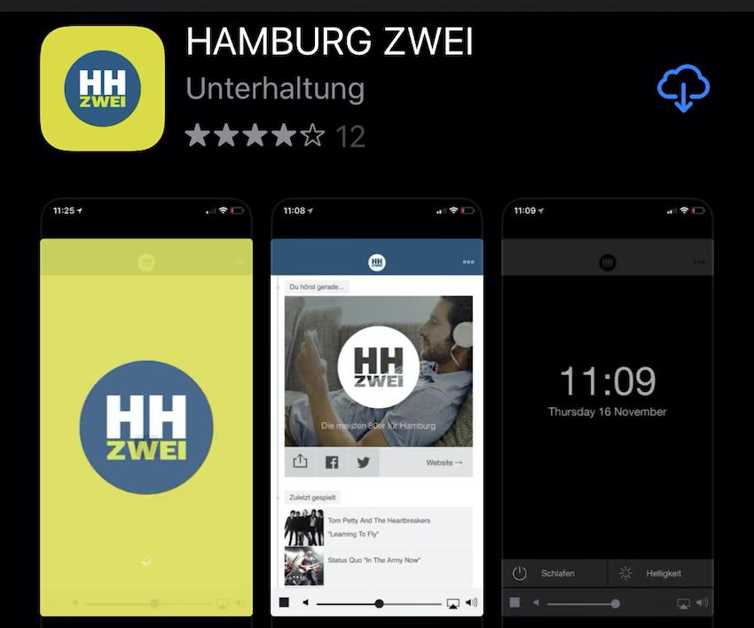 Hamburg-Zwei-App wieder installierbar (Foto: SmartPhoneFan.de)