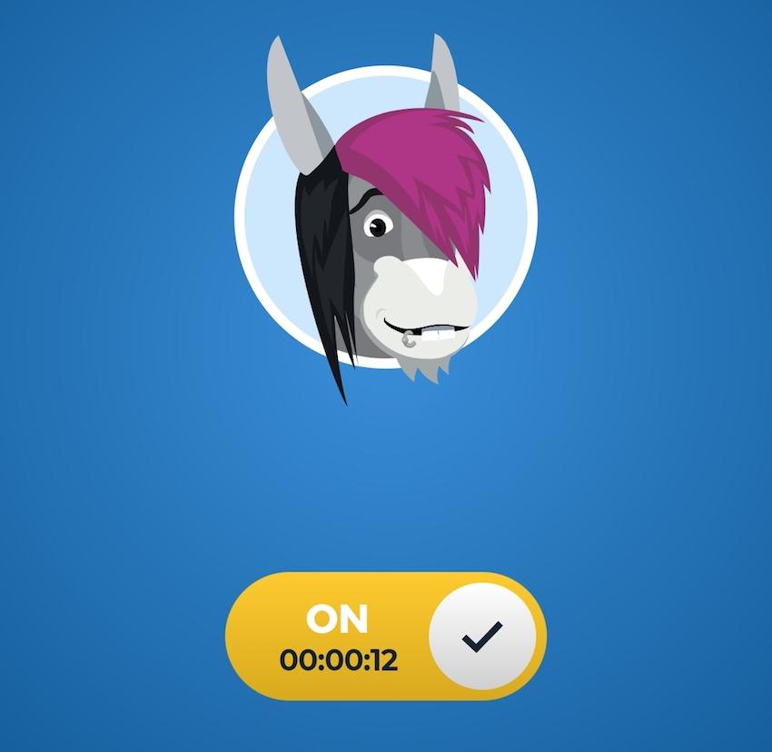Android-App von Hide my Ass (Foto: SmartPhoneFan.de)