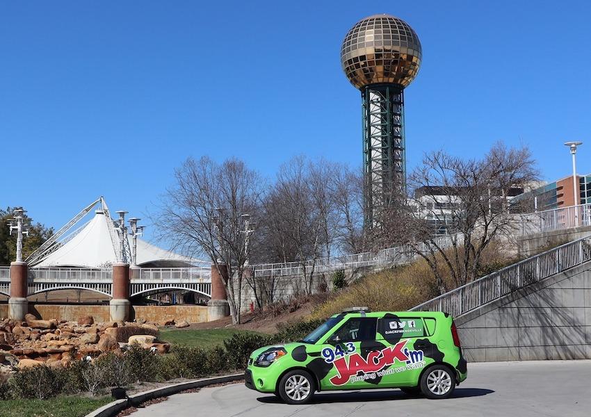 94.3 JACK FM sendet aus Knoxville (Foto: Midwest Communications, Inc.)