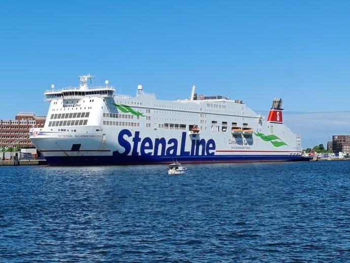 Stena Line im Kieler Hafen (Foto: SmartPhoneFan.de)
