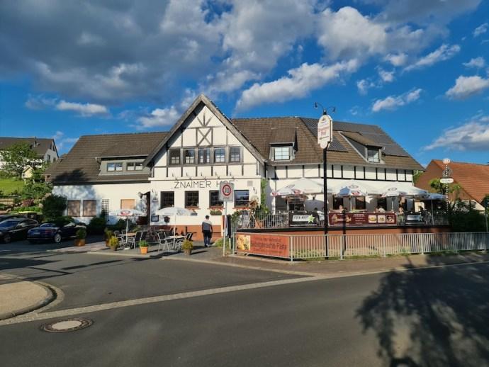 Tagesausklang im Znaimer Hof (Foto: SmartPhoneFan.de)