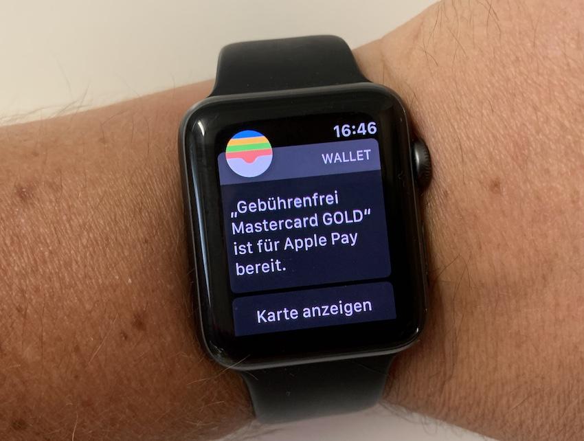 Gebuhrenfrei.com bei Apple Pay (Foto: SmartPhoneFan.de)