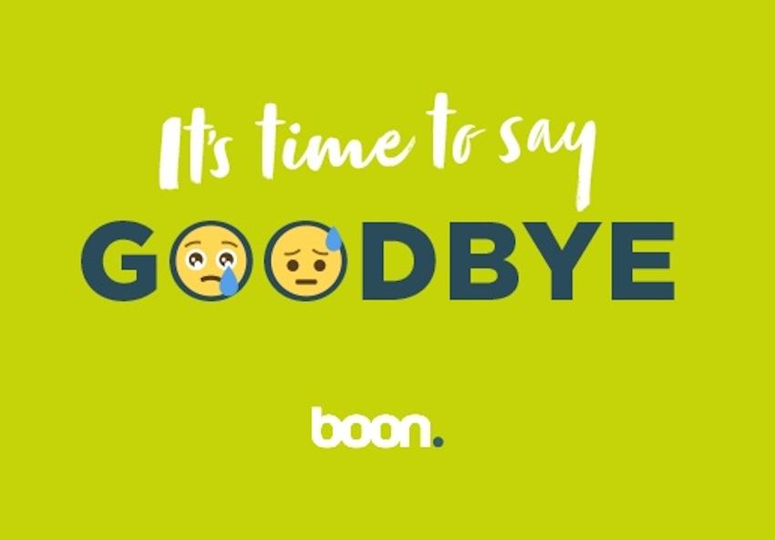 Boon wird eingestellt (Foto: Boon)