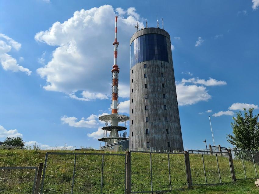 Sender Inselsberg im Thüringer Wald (Foto: SmartPhoneFan.de)