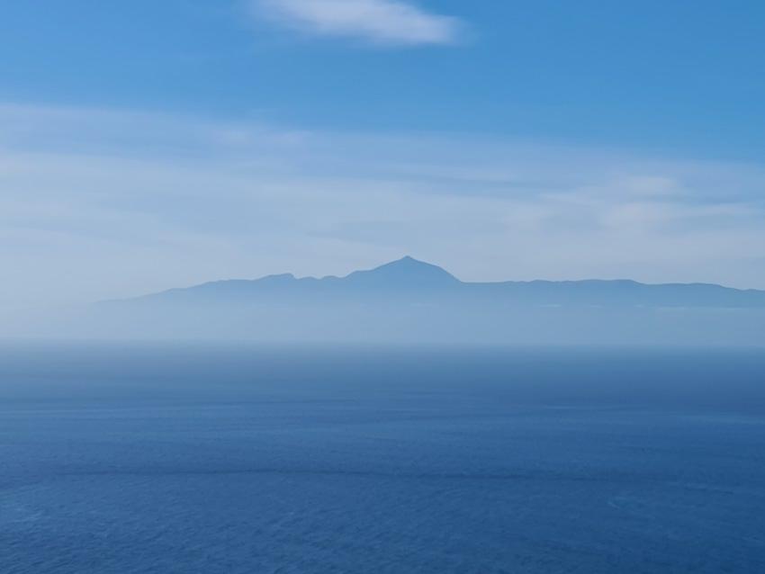 Blick vom Mirador de Balcón zum Teide (Foto: SmartPhoneFan.de)
