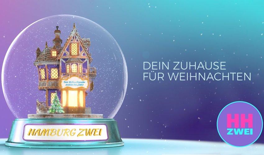 Hamburg Zwei wird Weihnachtsradio (Foto: Hamburg Zwei)